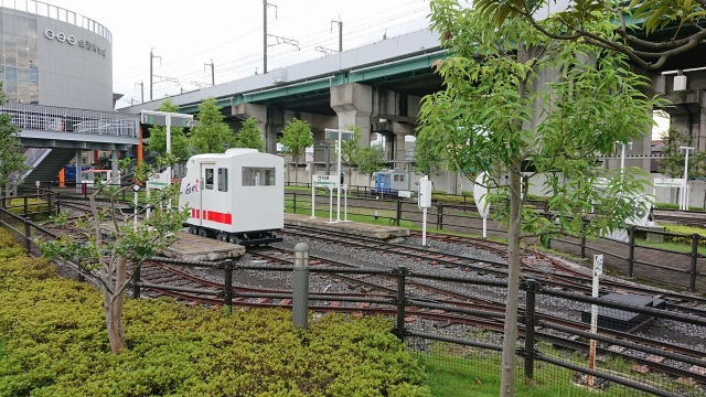 鉄道博物館の大人気アトラクションミニ運転列車