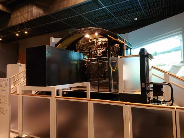 大宮鉄道博物館のD51シミュレータ